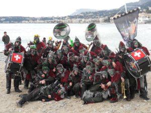Les membres de la Niouguen's en 1998