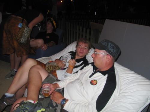 Braderie à Pailly en 2011