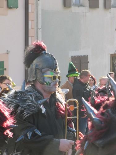 Carnaval de Vallorbe en 2014