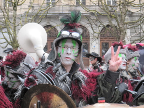 Carnaval des Bolzes à Fribourg en 2014